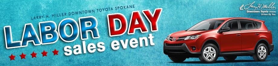 Larry H Miller Toyota Spokane >> Labor Day Weekend Sales Event Spokane | Toyota Clearance Event
