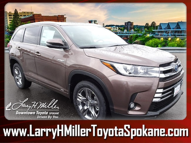 New 2019 Toyota Highlander Hybrid SUV for sale near you in Spokane, WA