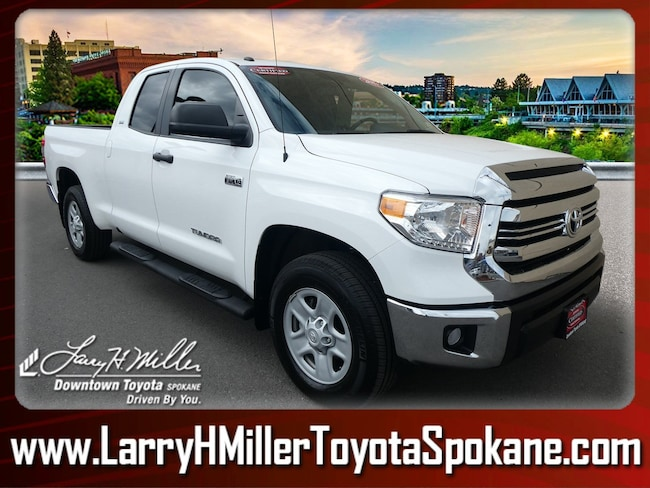 Certified Pre-Owned 2017 Toyota Tundra SR5 5.7L V8 Truck Double Cab 5TFUY5F15HX646015 for sale near you in Spokane, WA