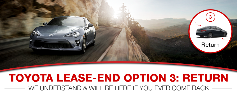 Return your Toyota Lease to Larry H. Miller Downtown Toyota Spokane