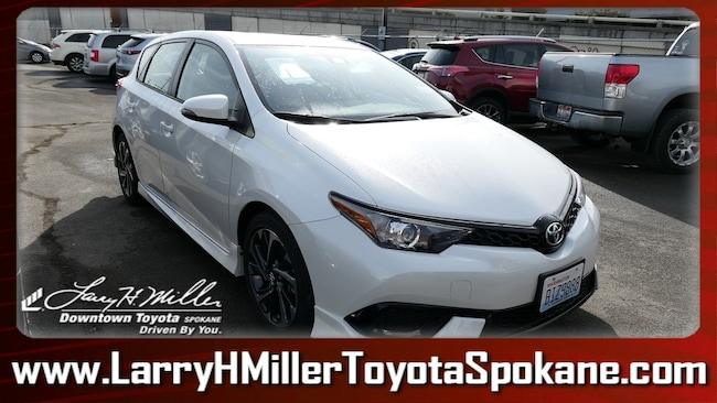 Certified Pre-Owned 2018 Toyota Corolla iM Base Hatchback JTNKARJE2JJ555818 for sale near you in Spokane, WA