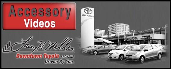 Larry H Miller Toyota Spokane >> Genuine Toyota Accessories Spokane Larry H Miller
