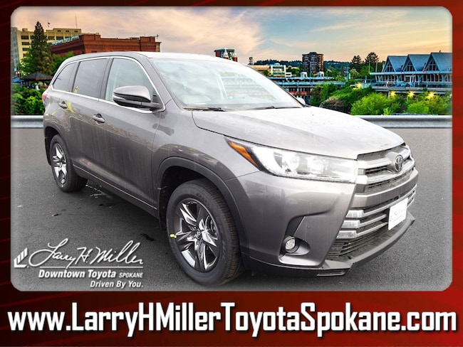 New 2019 Toyota Highlander Limited Platinum V6 SUV for sale near you in Spokane, WA