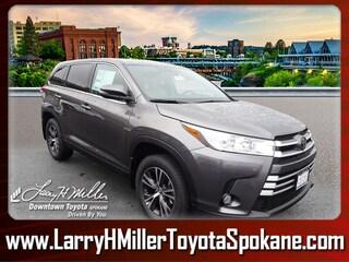 New 2019 Toyota Highlander LE Plus V6 SUV for sale near you in Spokane WA