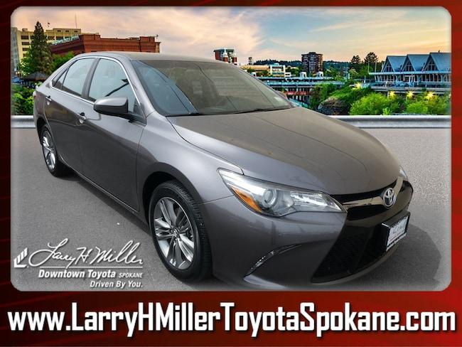 Certified Pre-Owned 2016 Toyota Camry Sedan 4T1BF1FK5GU230394 for sale near you in Spokane, WA