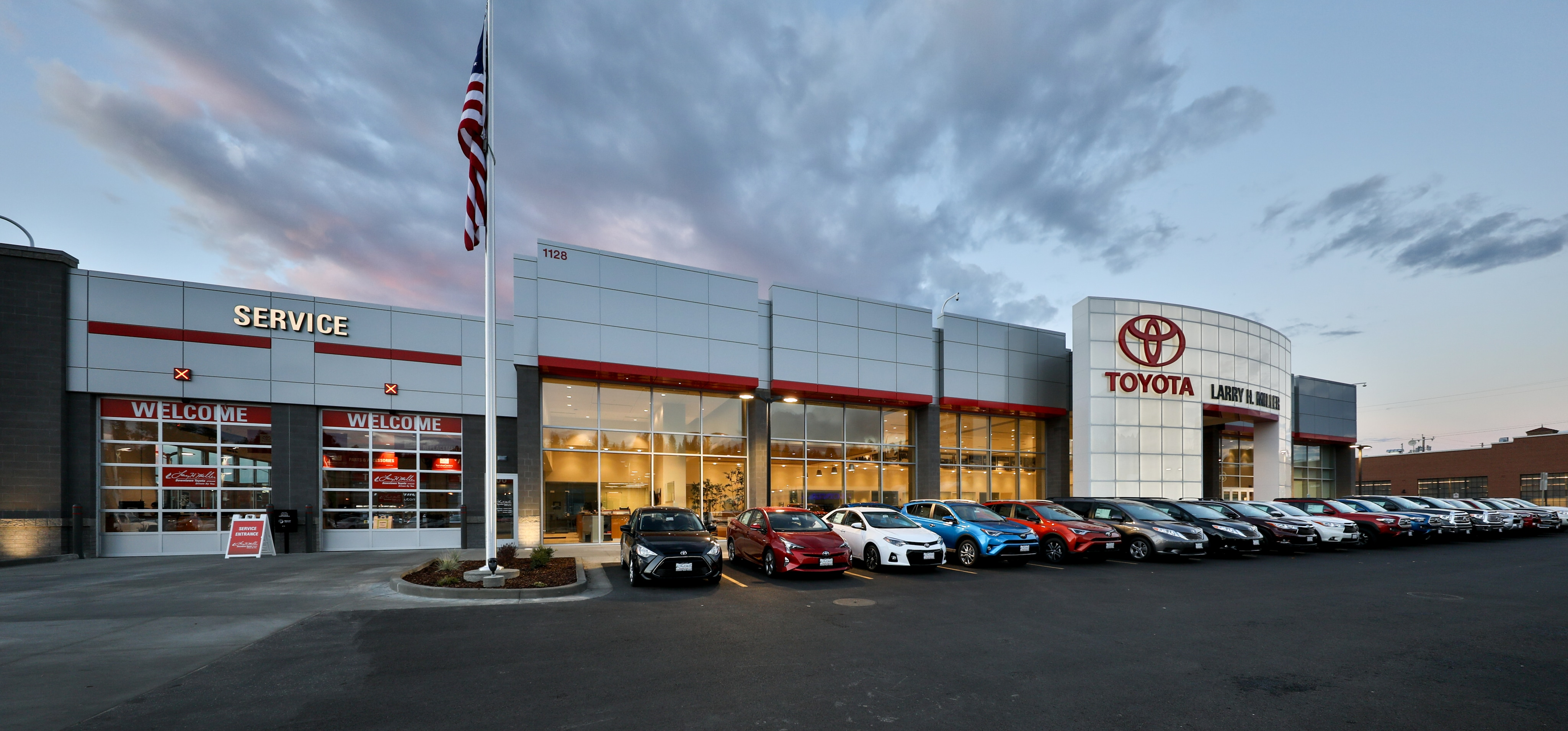 Larry H Miller Spokane >> About Larry H Miller Downtown Toyota Serving Spokane Valley