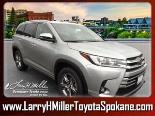 New 2019 Toyota Highlander Limited Platinum V6 SUV for sale near you in Spokane WA