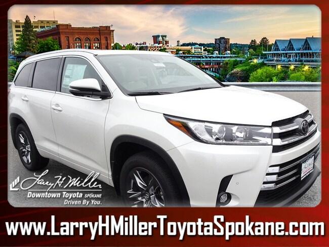 New 2019 Toyota Highlander SUV for sale near you in Spokane, WA