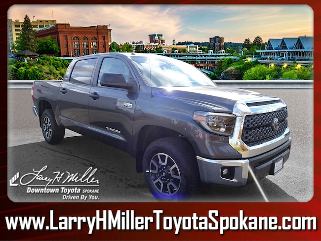 New 2019 Toyota Tundra SR5 5.7L V8 Truck CrewMax for sale near you in Spokane, WA