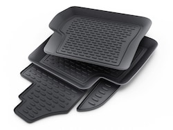 Genuine Toyota Highlander All-Weather Floor Liners