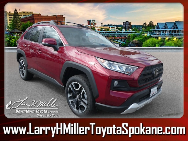 New 2019 Toyota RAV4 Adventure SUV for sale near you in Spokane, WA