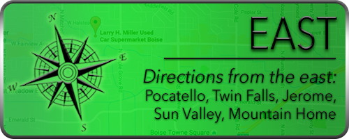 Directions To LHM Used Car Supermarket Boise