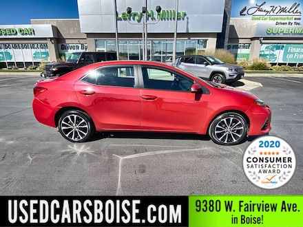 Featured Used 2017 Toyota Corolla XSE Sedan for sale near you in Boise, ID
