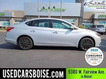 Featured Used 2018 Nissan Sentra S Sedan for sale near you in Boise, ID