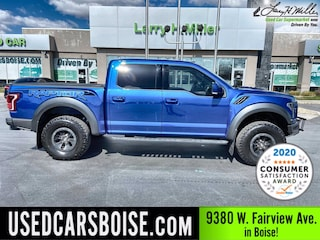Used 2018 Ford F-150 Raptor Truck SuperCrew Cab for sale near you in Boise, ID
