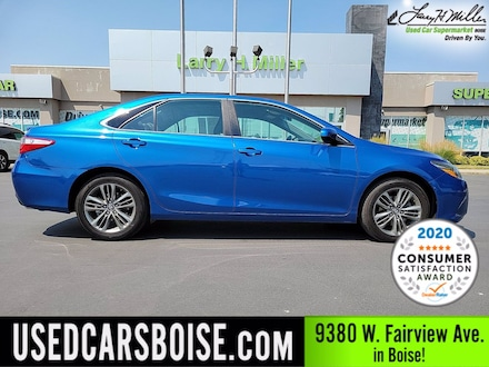 Featured Used 2017 Toyota Camry SE Sedan for sale near you in Boise, ID