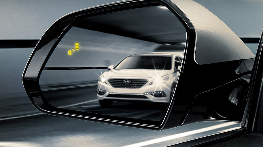 2016 Sonata blind spot detection system