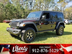 New 2019 Jeep Wrangler UNLIMITED RUBICON 4X4 Sport Utility for Sale in Hinesville, GA at Liberty Chrysler Dodge Jeep Ram