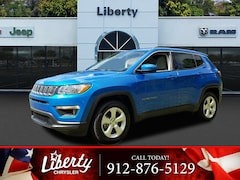 New 2019 Jeep Compass LATITUDE FWD Sport Utility 3C4NJCBB7KT614245 for Sale in Hinesville, GA at Liberty Chrysler Dodge Jeep Ram