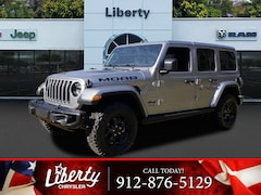 New 2018 Jeep Wrangler UNLIMITED MOAB 4X4 Sport Utility for Sale in Hinesville, GA at Liberty Chrysler Dodge Jeep Ram