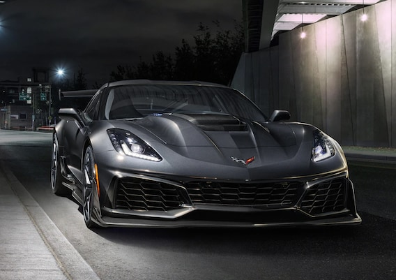 2019 Chevy Corvette Trim and Package Options - Liberty Chevrolet