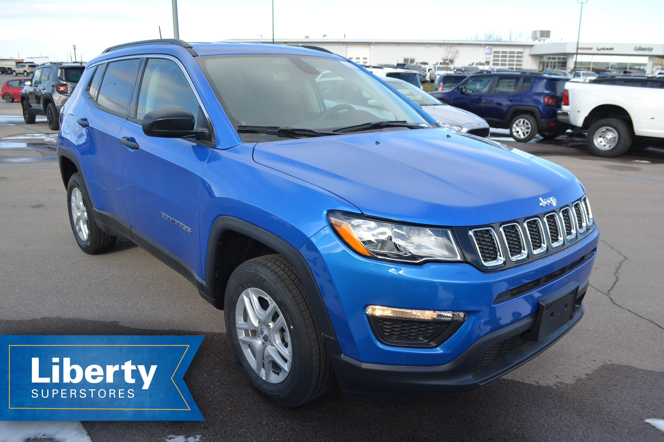 2019 jeep compass for sale in rapid city sd liberty superstores. Black Bedroom Furniture Sets. Home Design Ideas