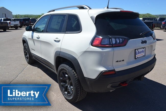 new 2019 jeep cherokee trailhawk 4x4 for sale rapid city sd. Black Bedroom Furniture Sets. Home Design Ideas