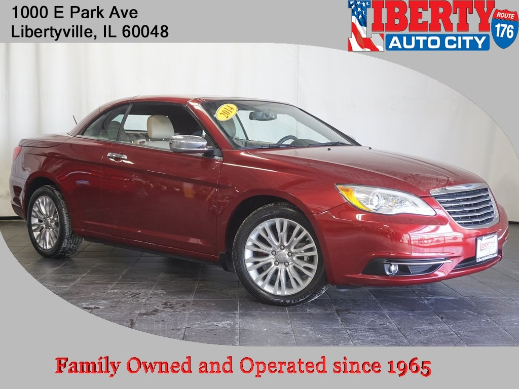 2014 Chrysler 200 Limited Convertible