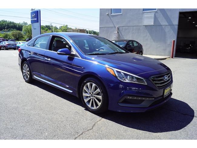 Certified 2016 Hyundai Sonata Sport w/PZEV Sedan For Sale in Ramsey, NJ