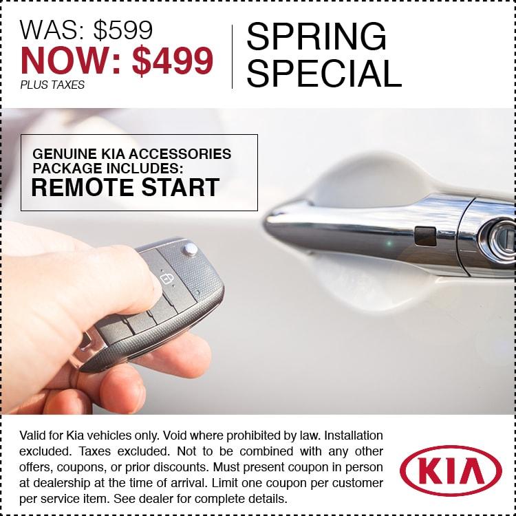 $499 Spring Special remote start