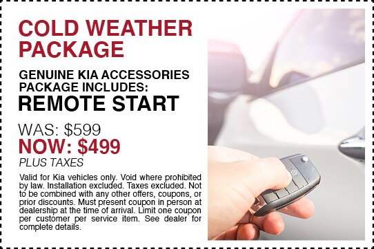 Cold Weather Package Now $499