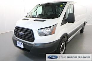 2017 Ford Transit-150 w/60/40 Pass-Side Cargo-Doors Van Low Roof Cargo Van
