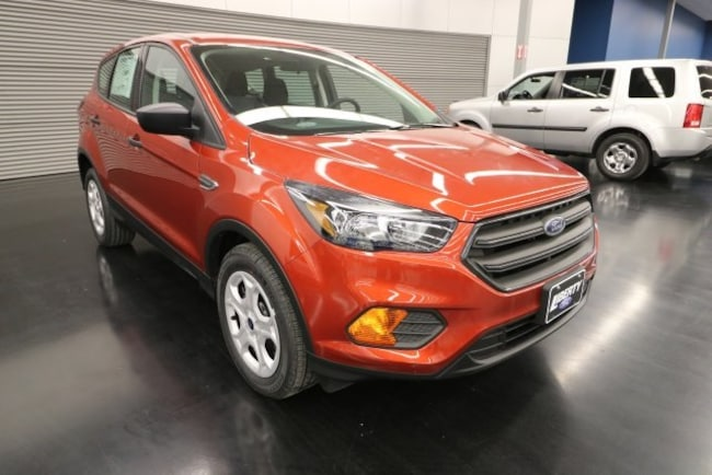 New 2019 Ford Escape S SUV Vermilion