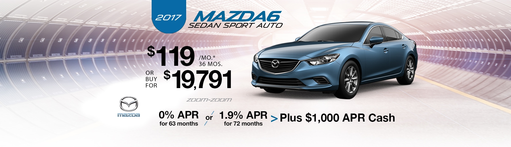 2017 Mazda i Sport Auto Lease Special at Liberty Mazda