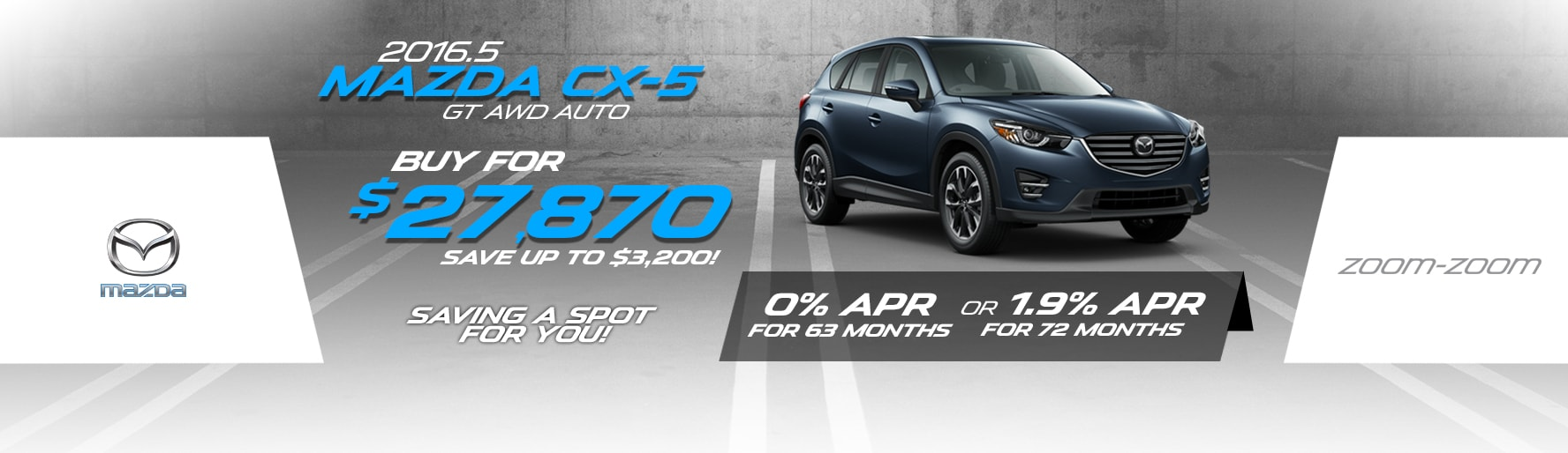 2016.5 Mazda CX-5 GT AWD Auto Lease Special at Liberty Mazda
