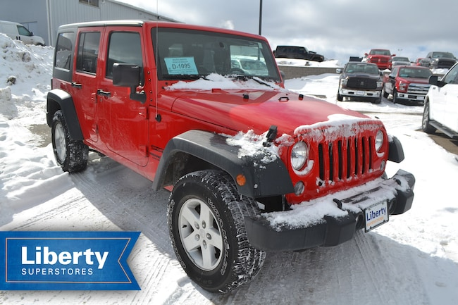 Used 2015 Jeep Wrangler Unlimited For Sale At Liberty Superstores