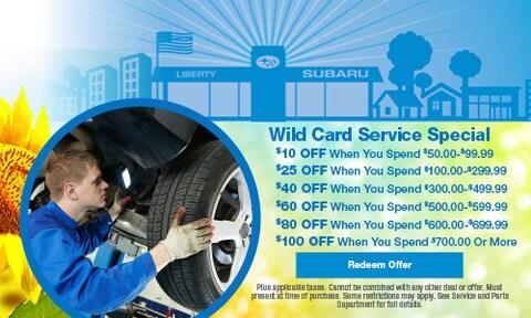 Wild Card Service Special