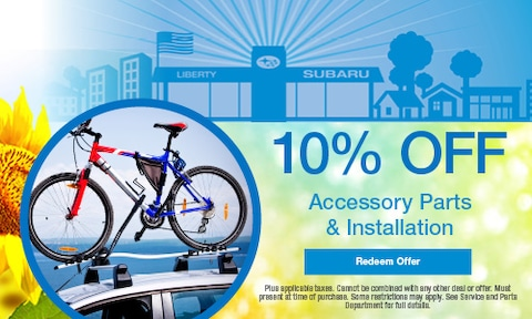 10% OFF Accessory Parts & Installation
