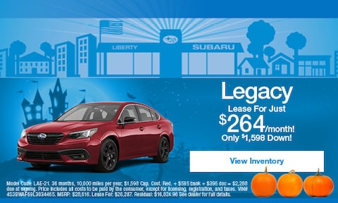 Subaru Legacy Lease