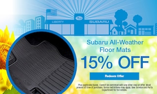 Subaru All-Weather Floor Mats