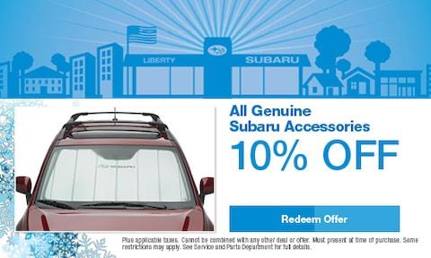All Genuine Subaru Accessories
