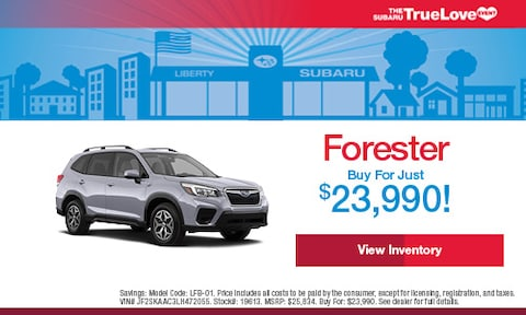 New Forester Buy For