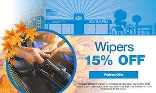 15% OFF Wiper Blades