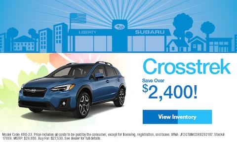 April 2019 Subaru Crosstrek