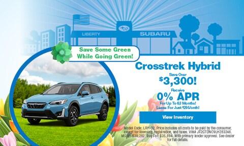 Crosstrek Hybrid Save Over