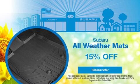 Subaru All Weather Mats