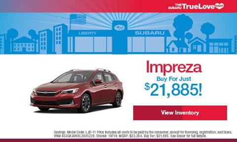 New Impreza Buy For