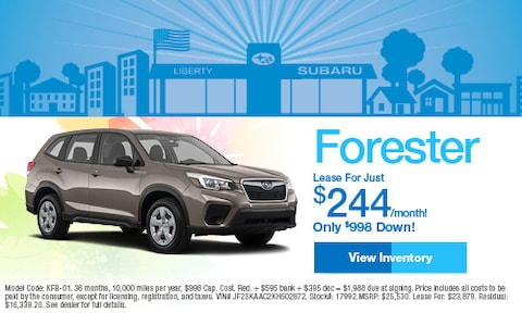 April 2019 Subaru Forester