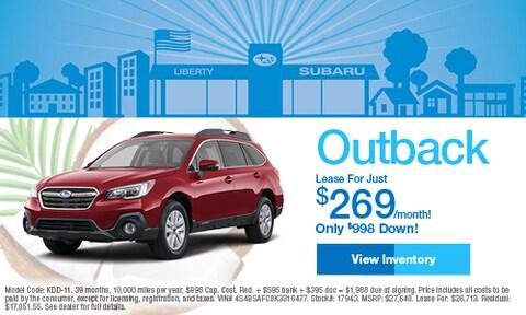 2019 Subaru Outback Lease