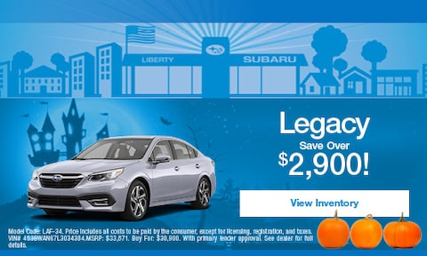 Subaru Legacy Savings